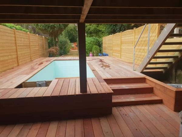 Terrasse bois en kit exotique IPE essence très résistante et durable